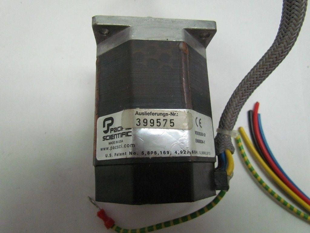 Pacific scientific vde0530 s1 stepper motor p22nrxa lnn ns for Pacific scientific stepper motor