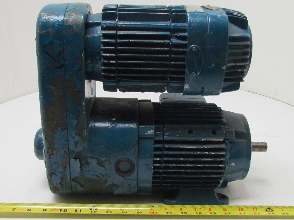 Demag Kba71 Hp 3 Ph 230 460 Volt Motor Gear Reducer 3