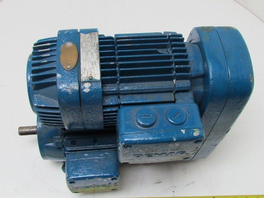 Demag Kba71 Hp 3 Ph 230 460 Volt Motor Gear Reducer 3