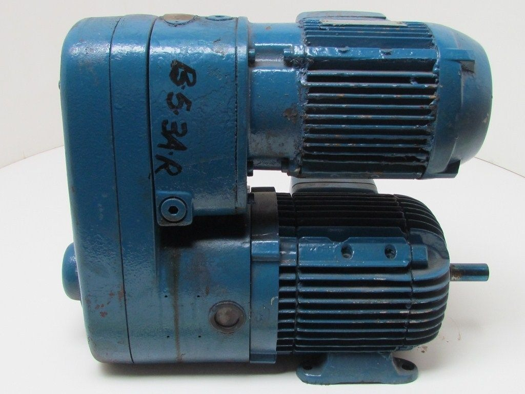 Demag Vd 42 80b 4 Bk780 Gear Reducer 460volt Motor 3 4 Shaft Unknown Ratio Works Ebay