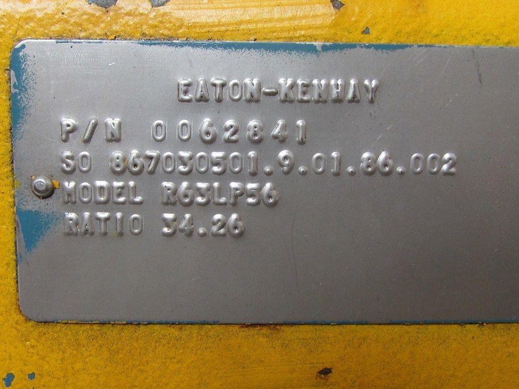 Sew Eurodrive R63lp56 0062841 Eaton Kenway Gear Box Speed