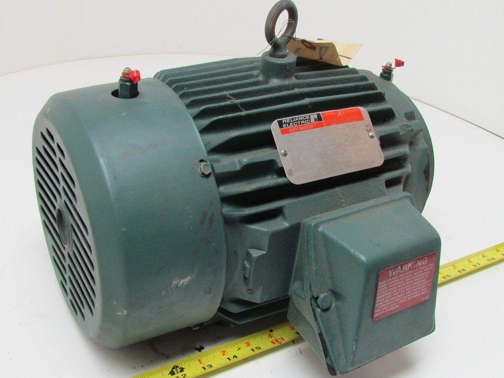 Reliance P18g3895a 13gp18389501g 6 Cd 1hp 1165 Rpm 460v