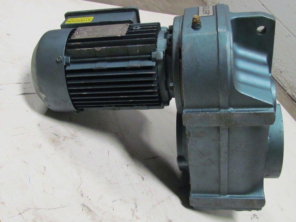 Sew Eurodrive Dft80n8 4 Fa67dt80n8 4 Motor W Gearbox 3