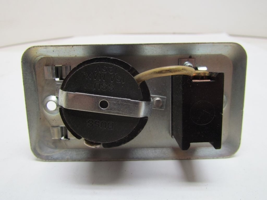 buss fuse for furnace box buss fuse box 1960s buss fustat ssu fuse holder with switch for 2 1/4