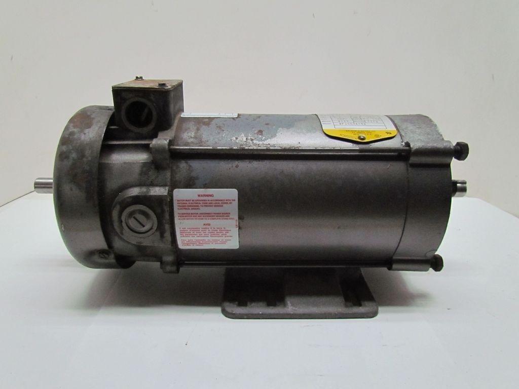 Dual Shaft Hydraulic Motor : Baldor hp rpm c frame tefc vdc double shaft