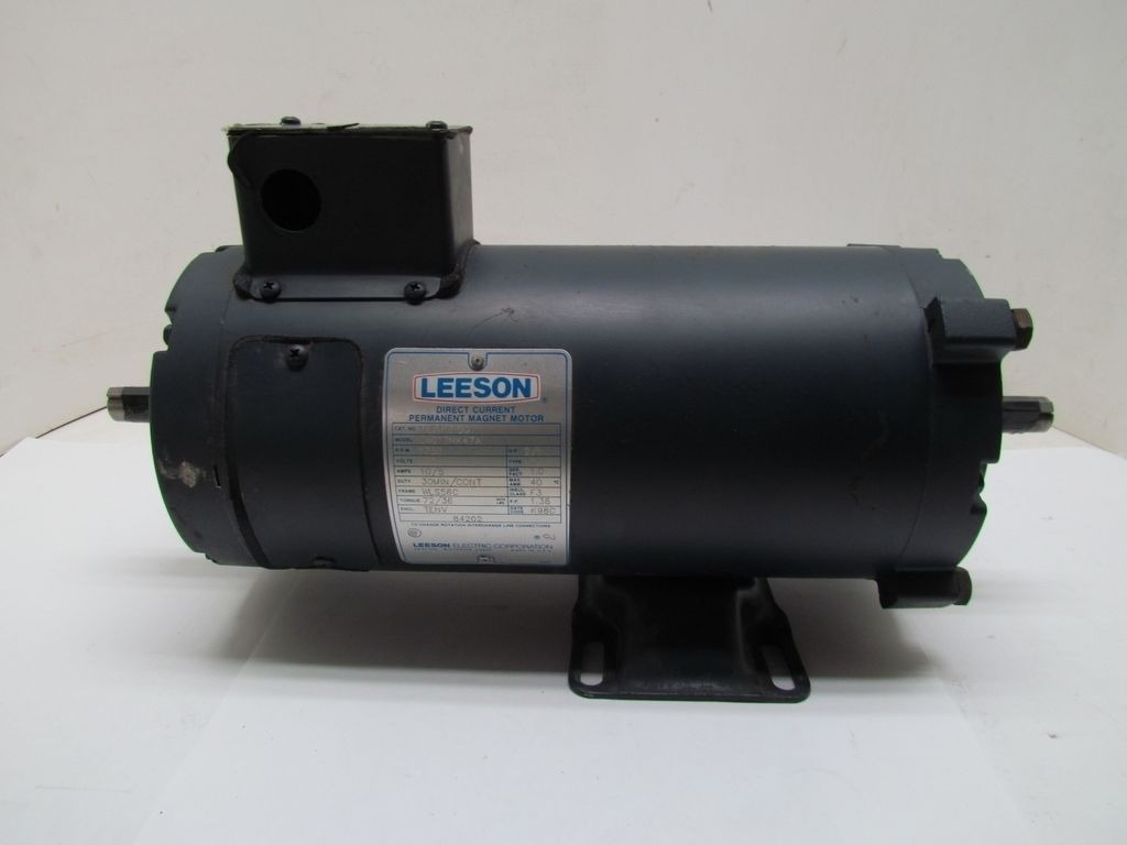Leeson C4d17nk47a 2hp 1750rpm 180vdc Tenv Direct Current