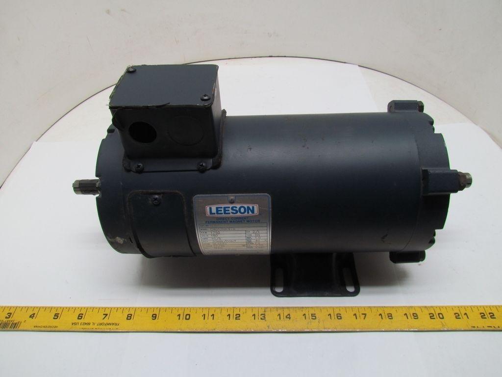 Leeson C4d17nk47a 2hp 1750rpm 180vdc Tenv Direct Current