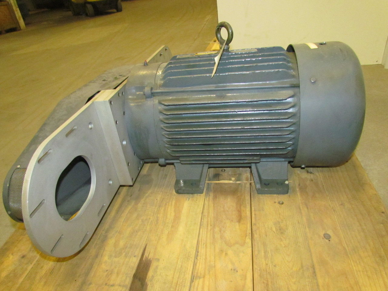 Sonic Air Systems Blower Head : Sonic air systems dual centrifugal blower hp baldor