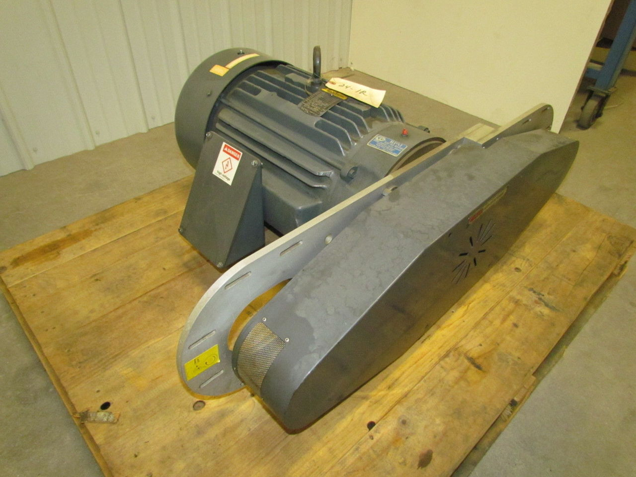 Sonic Air Systems Dual Centrifugal Blower 40HP Baldor Motor CM4109T  #A68A25