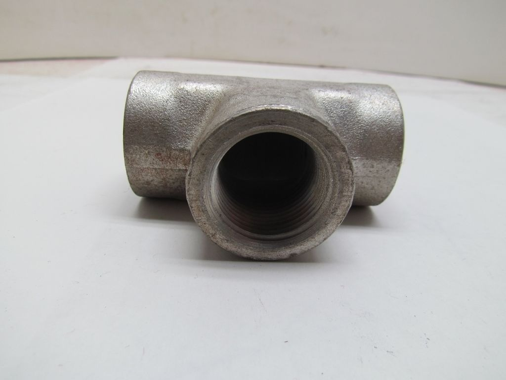 Parker hydraulics quot npt pipe thread nptf tee steel
