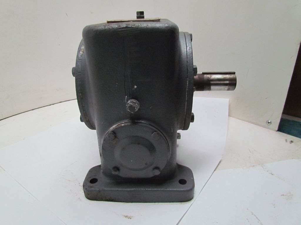 How To Calculate Gear Ratio >> Browning 300DCR-L100E Double Worm Gear Speed Reducer Gearbox 56C 100:1 | eBay