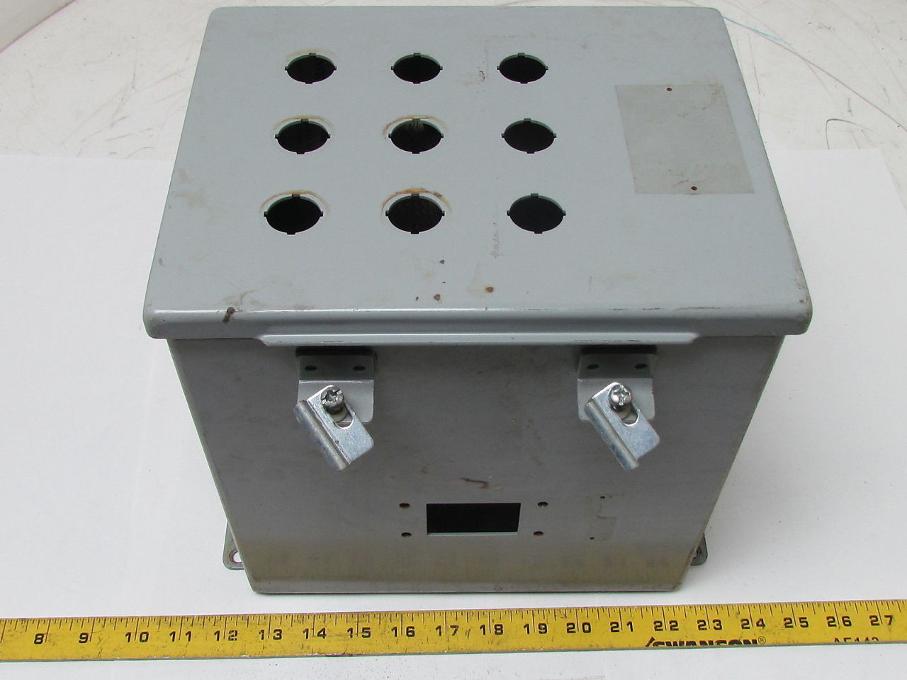 Hinged Electrical Box : Sce siginaw quot electrical enclosure jic junction box