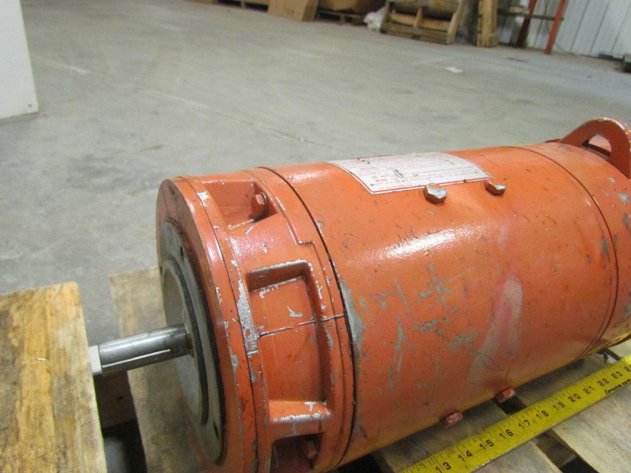 Ge general electric 5cd144me014b800 kinamatic 3hp 1750rpm for General electric dc motors