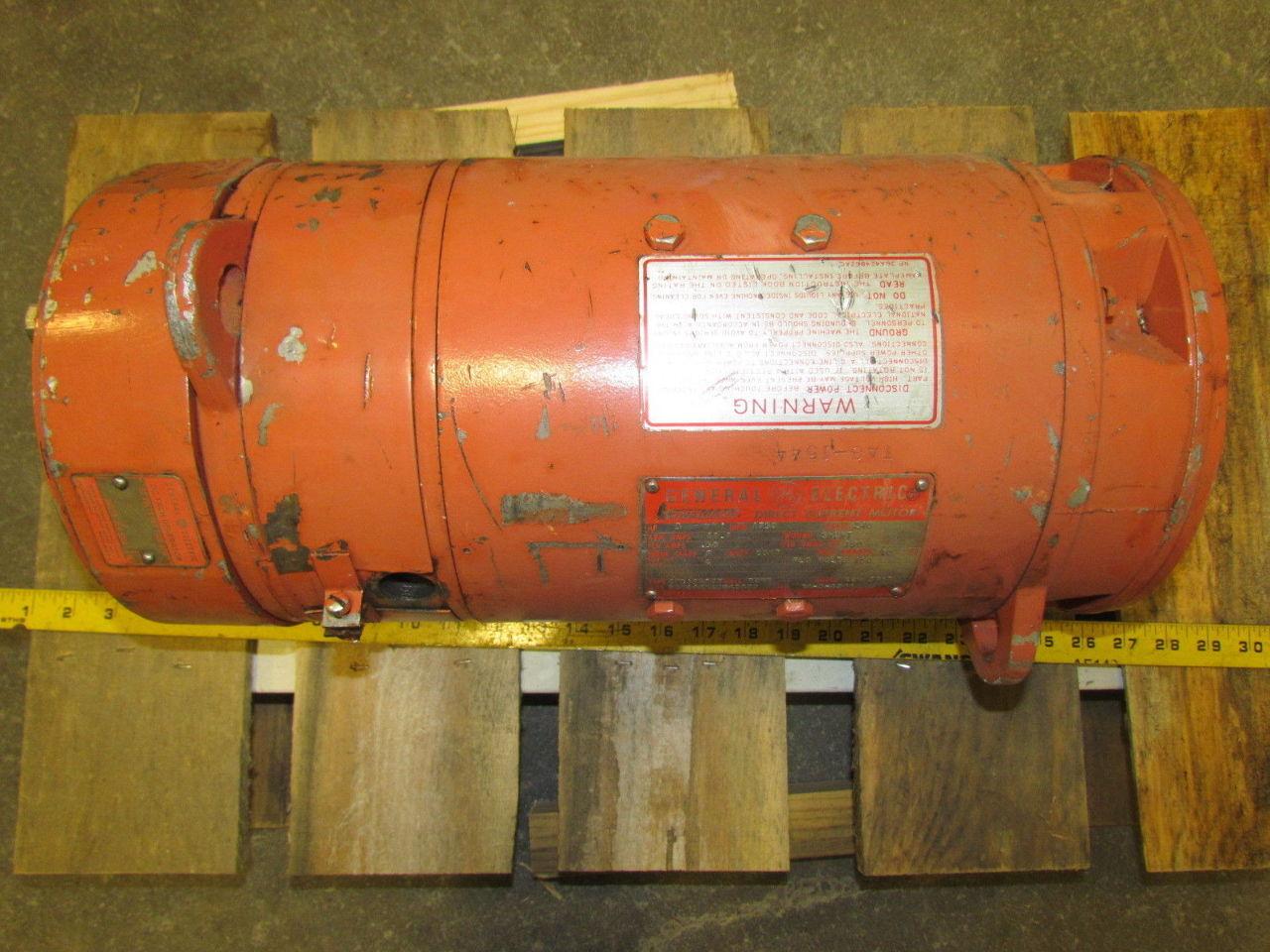 Ge General Electric 5cd144me014b800 Kinamatic 3hp 1750rpm