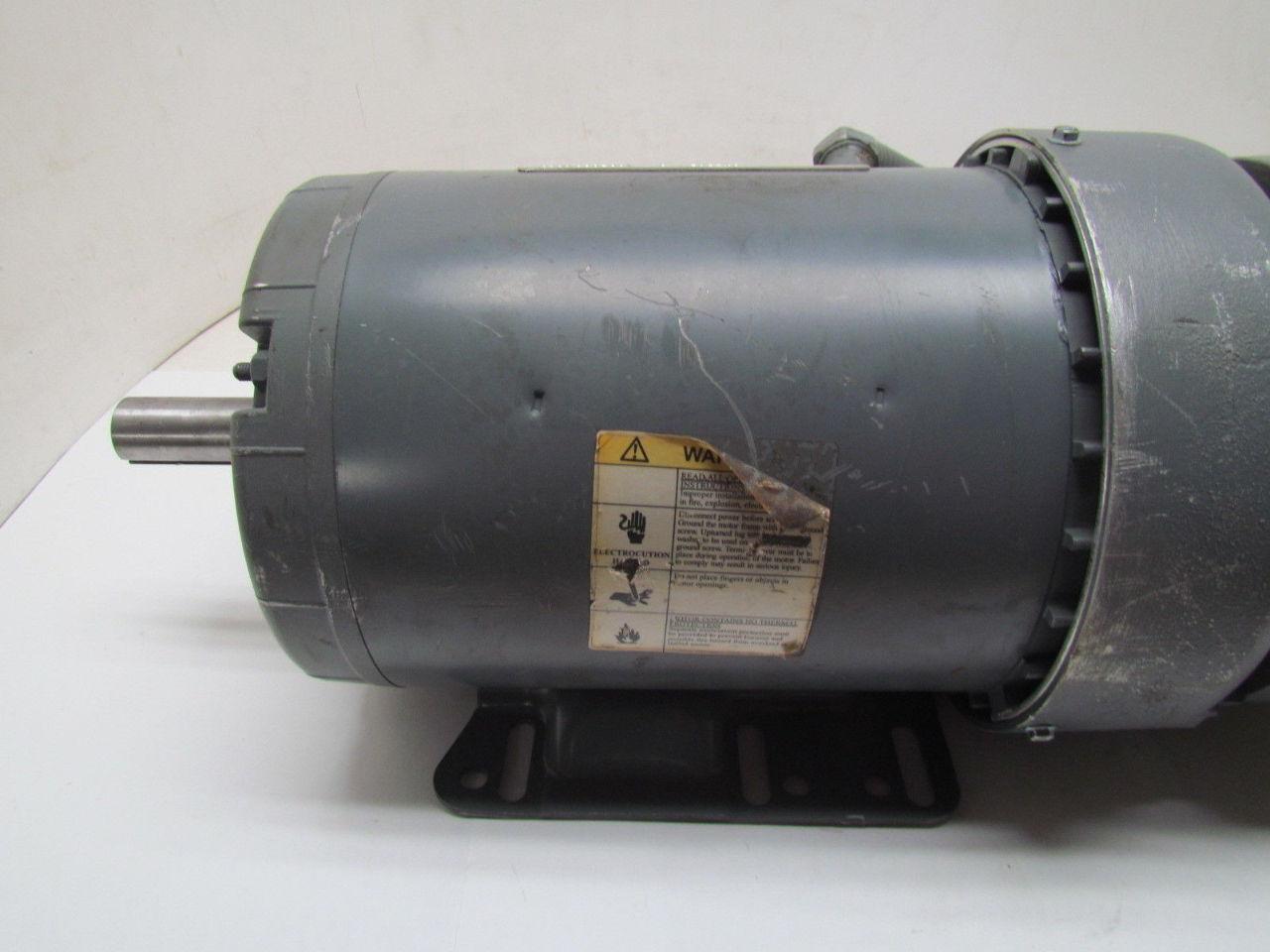 Dayton 3n550b 1 1 2hp 1740rpm 208 230 460v 3ph Tefc Motor