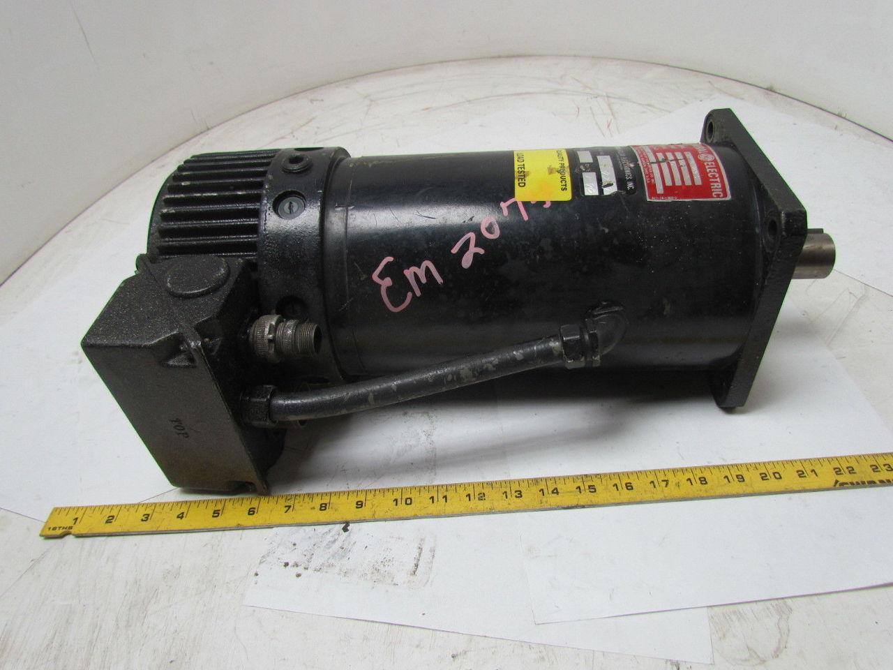 Ge general electric 183 18 1269 0 dc servo motor by hk for Ge motor parts online