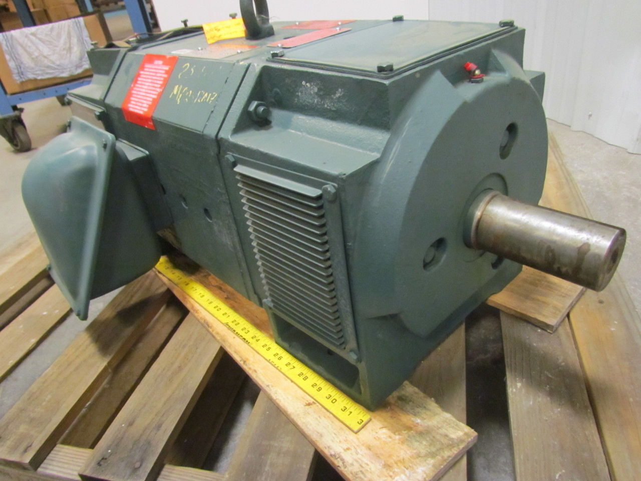 Reliance electric mc2812atz 25hp spindle motor 500v dc for 25 hp dc electric motor