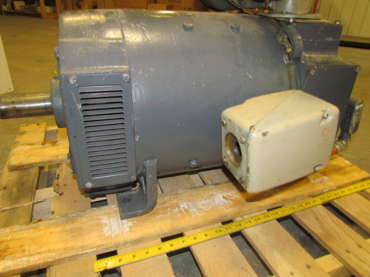 Ge general electric 20hp 500v dc kinamatic spindle motor for 500 hp electric car motor