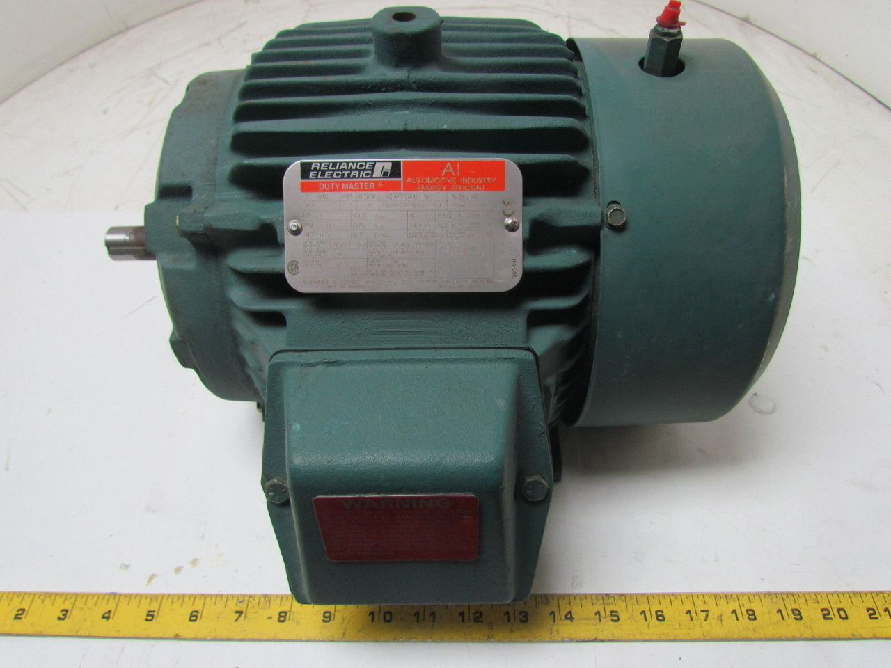 Reliance electric 3 fc 1hp 1165rpm tefc 184 frame 460v 3ph for Reliance dc motor frame size chart