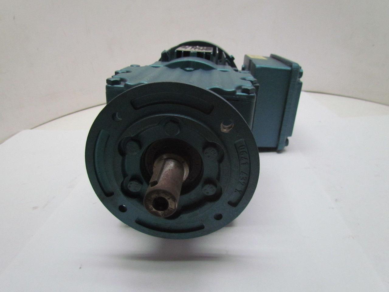 Sew Eurodrive Dft71c4 Motor Rf17dt71c4 Gear Reducer 133rpm