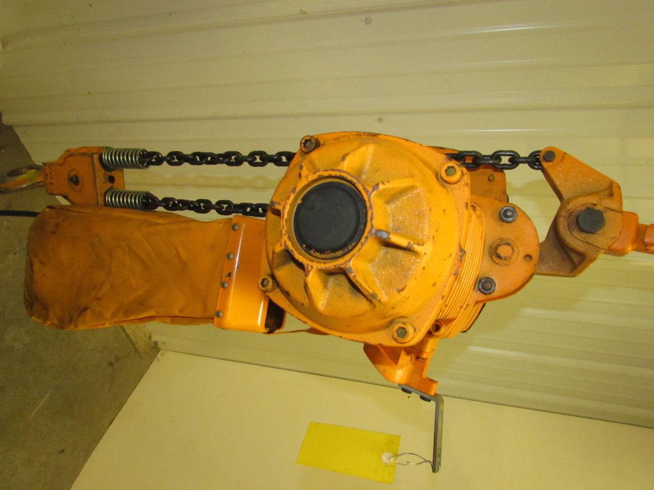 Harrington 2 Ton 3 Ph Electric Chain Hoist 15 39 6 Travel
