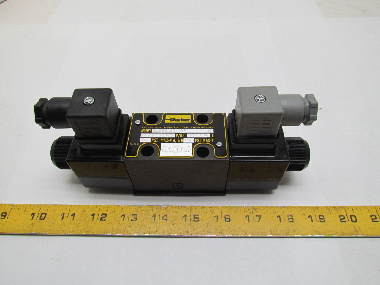 Parker D1vw011cnypf Hydraulic Series D Vw Directional