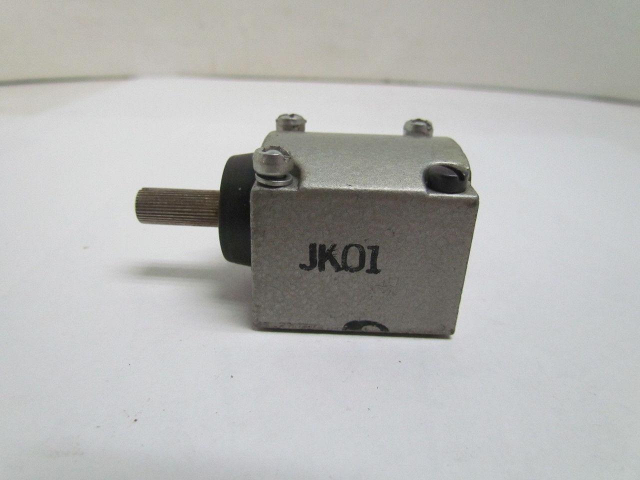Telemecanique R B Denison Gould Jk01 Limit Switch