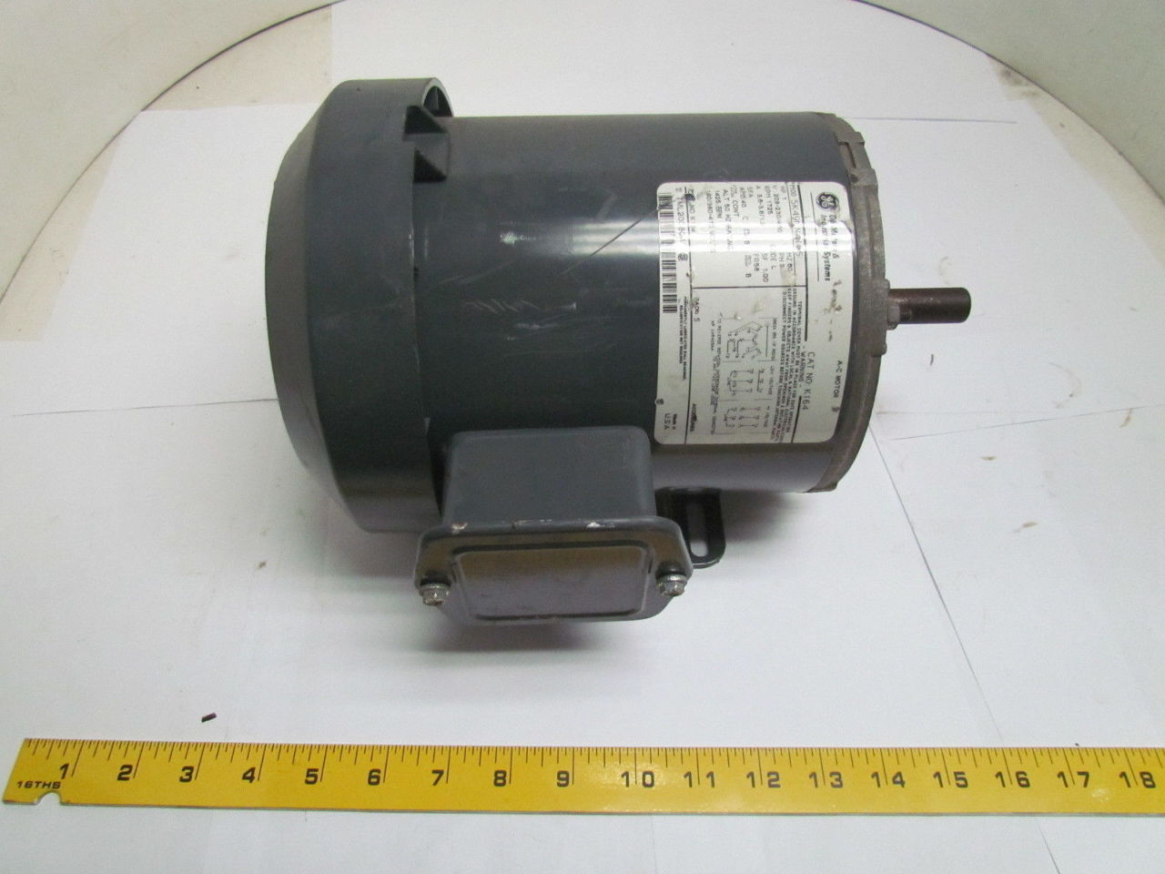 Ge General Electric 5k49mn4105 K164 1 Hp 1725 Rpm 3 Ph 56