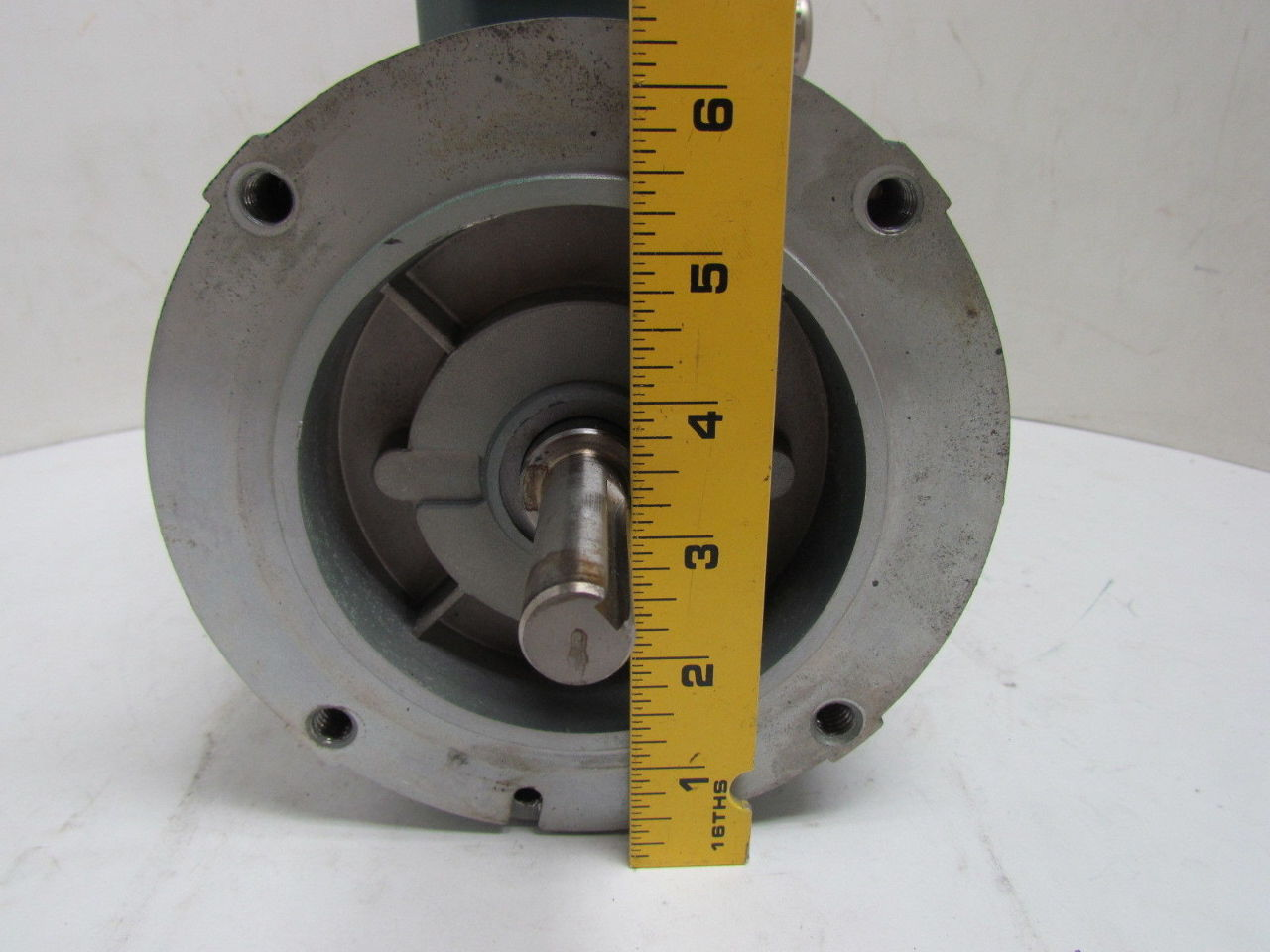 Reliance a c electric motor 1 1 2hp 1725rpm 230 460v 3ph for 56c frame motor dimensions