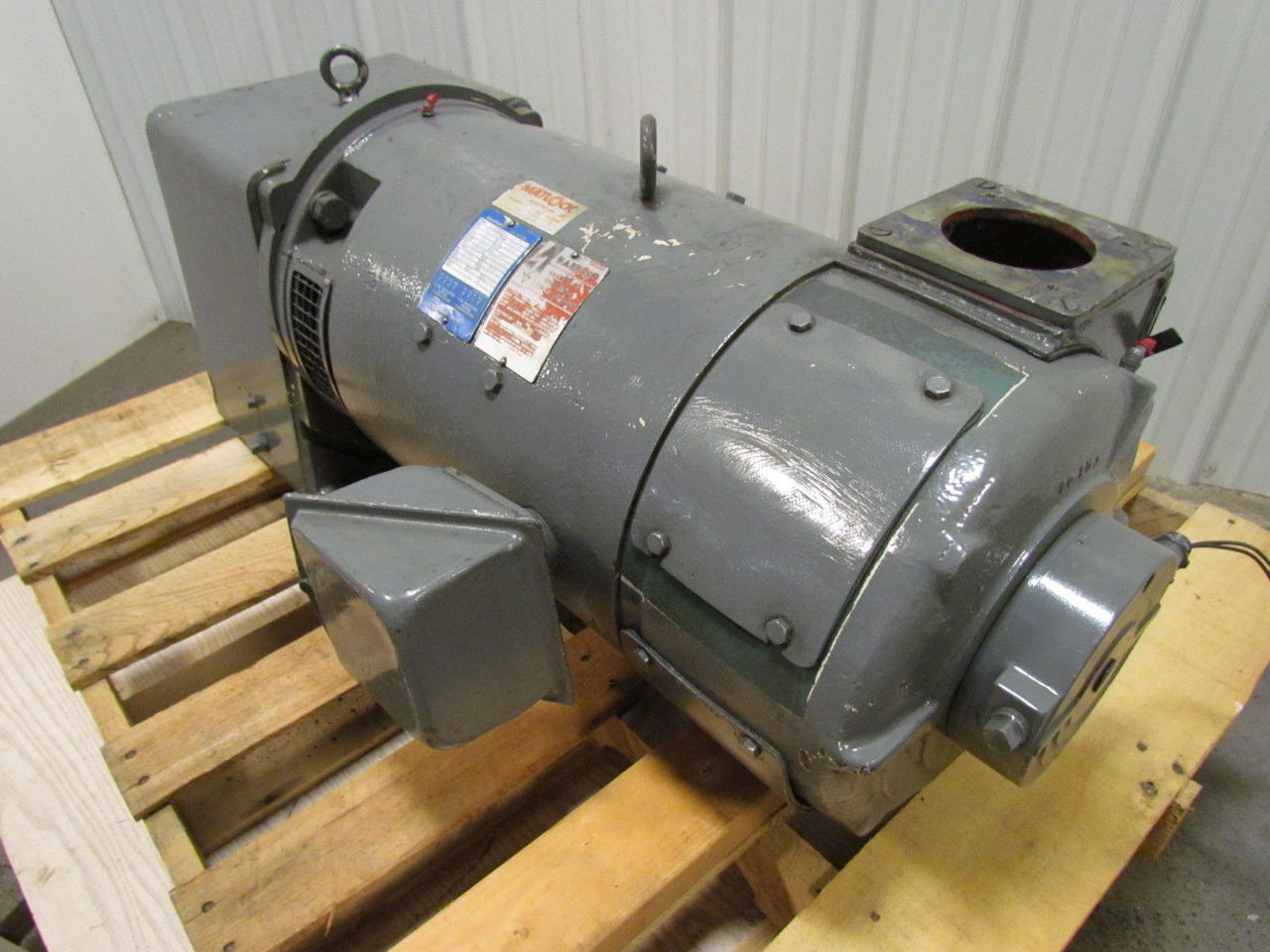Louis allis 9183857006 20hp flexitorq dc electric motor 2 for 25 hp dc electric motor