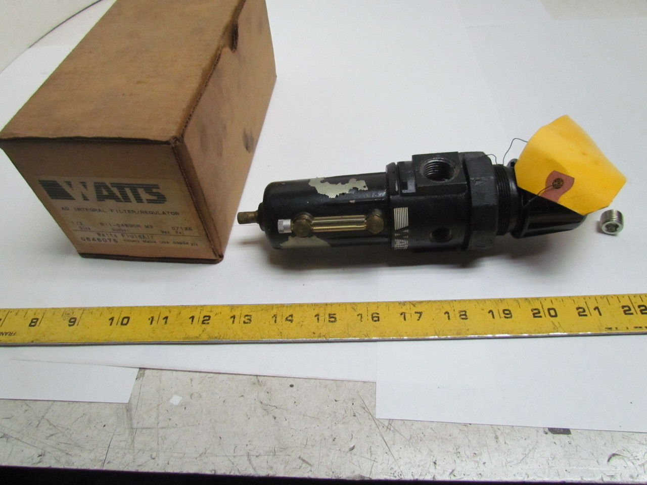 watts b11 04wgcr m3 1 2 npt air pressure regulator repaired ebay. Black Bedroom Furniture Sets. Home Design Ideas