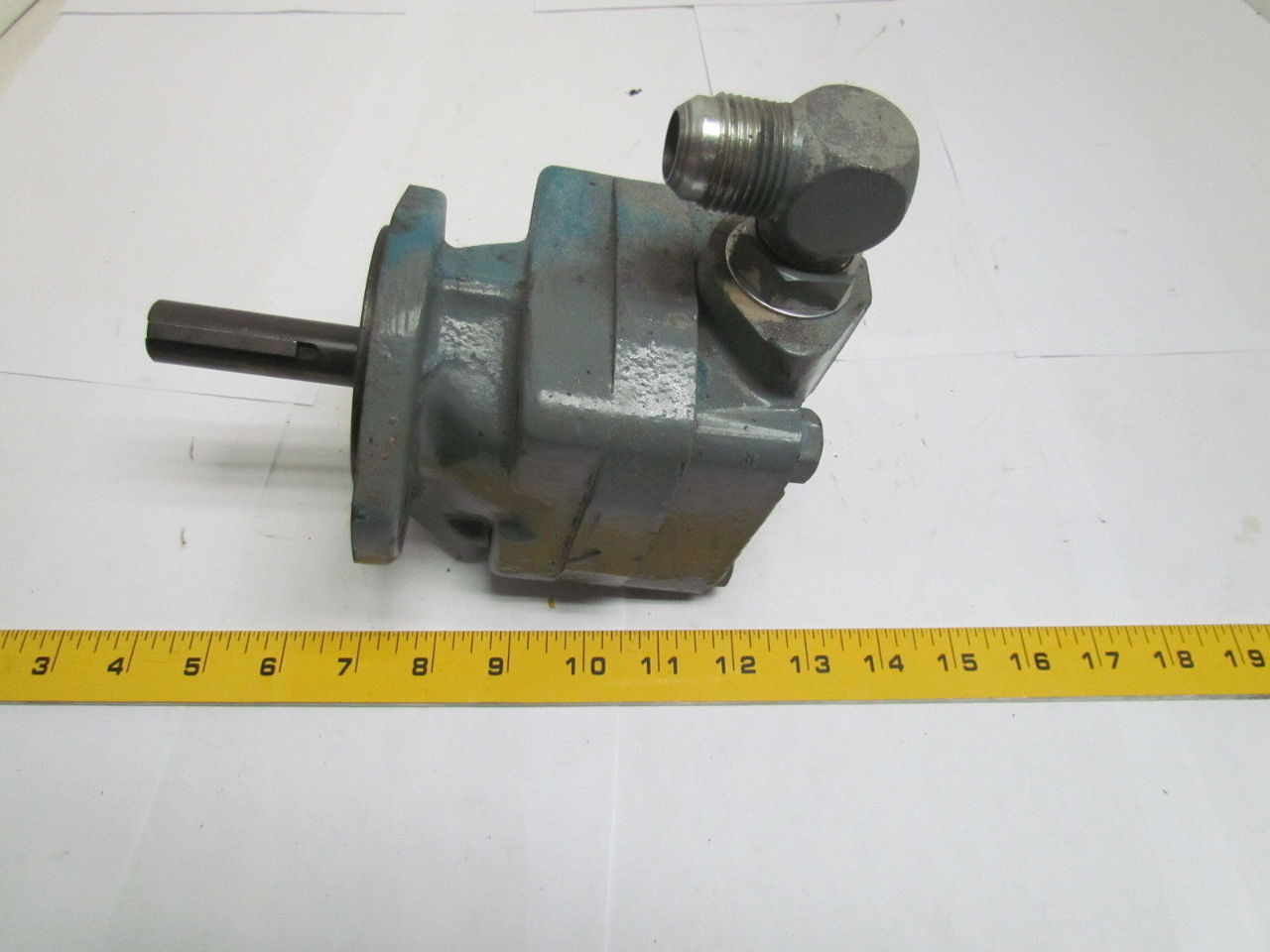 Vickers V201p9s1a11 Hydraulic Pump 3 4 Shaft Bullseye