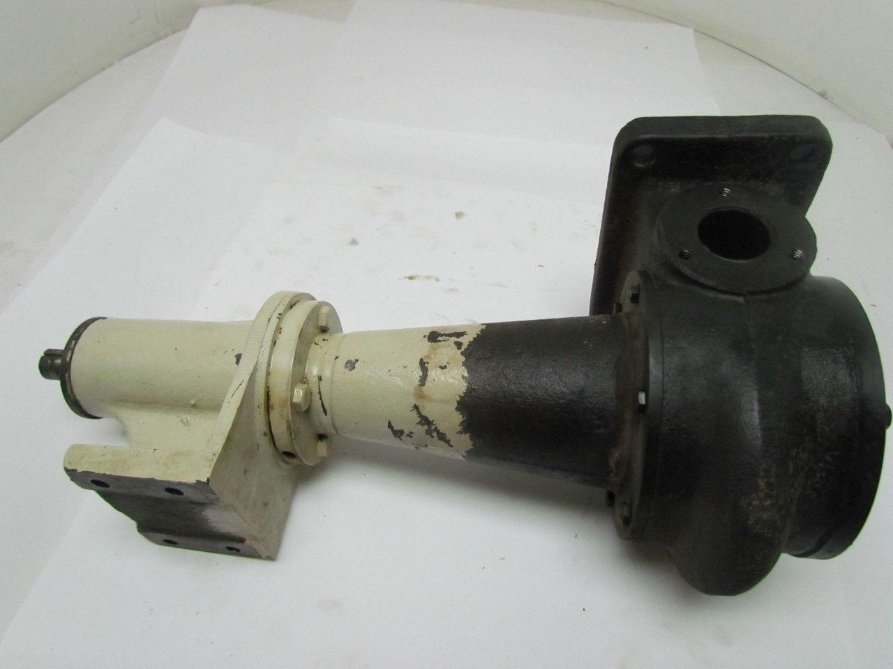 Coolant Pump 3 4 Quot Shaft 18 Quot Oa Height 3 3 4 Quot Dia Impeller 1