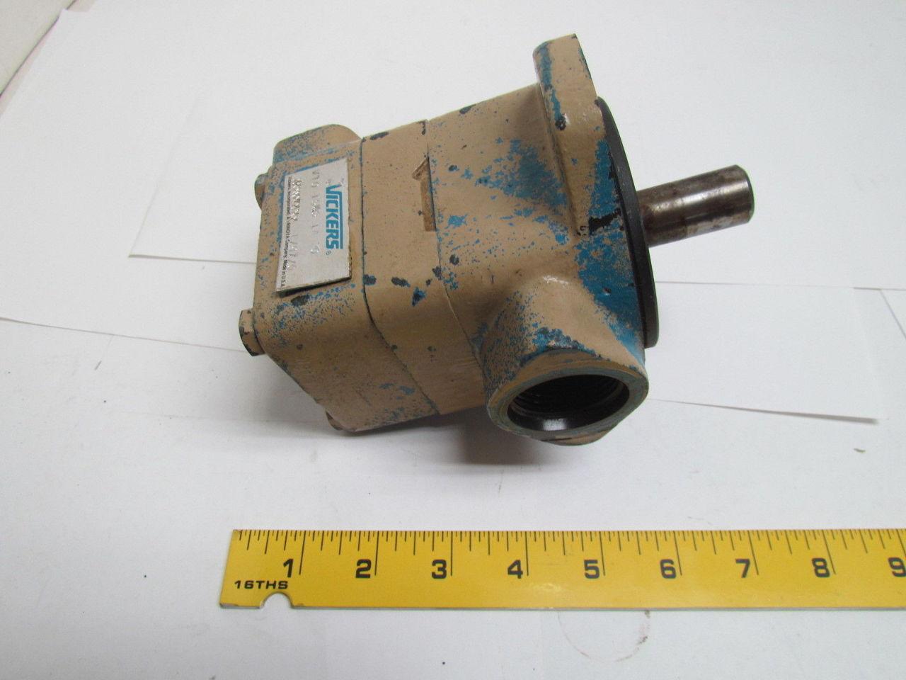 Vickers V10 1s4s 1a 20 V101s4s1a20 Hydraulic Pump Motor Ebay