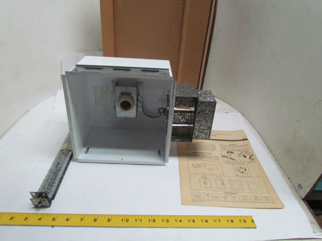 Dayton Electric 2e593 Single Bulb Ceiling Heater 115v Nib