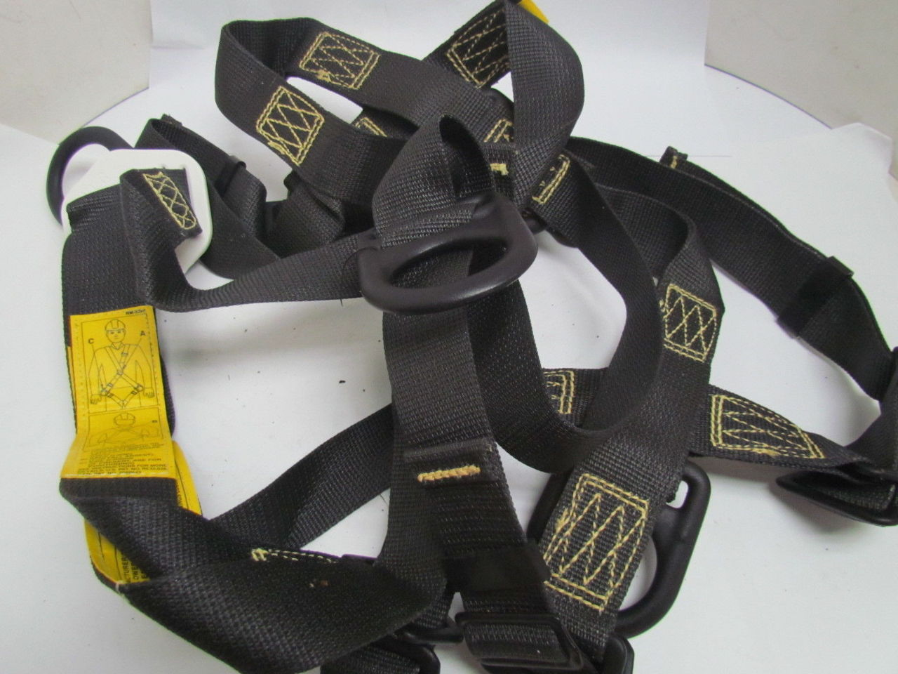 dbi sala l4544 5 fall protection safety harness size xl. Black Bedroom Furniture Sets. Home Design Ideas