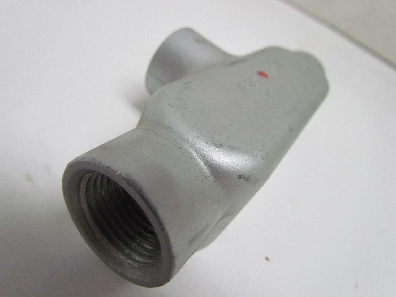Red dot quot t conduit fitting cast aluminum ebay