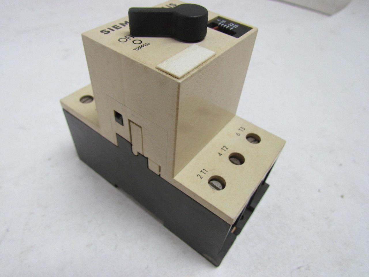 siemens msp30g manual motor starter protector
