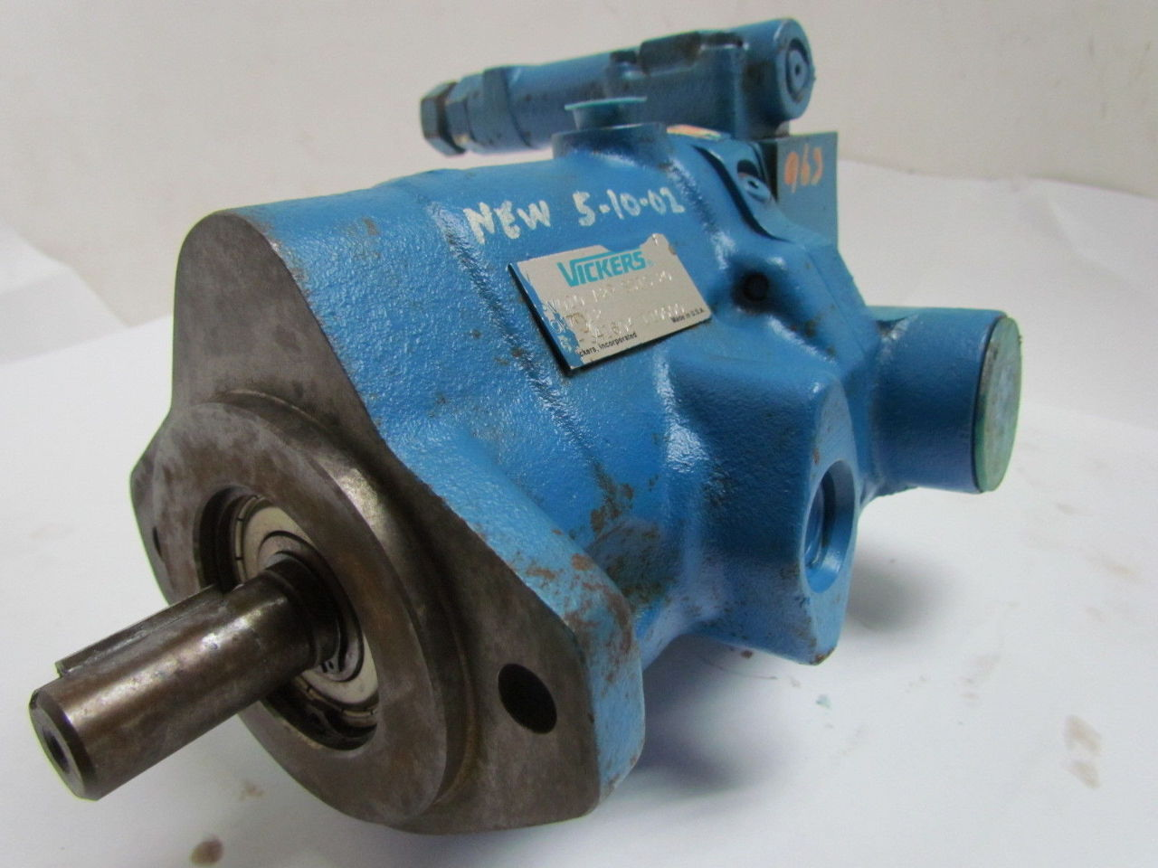 an overview of a vickers incorporated a piston pump company Shop from the world's largest selection and best deals for vickers hydraulic pumps business & industrial remanufactured vickers piston pump.