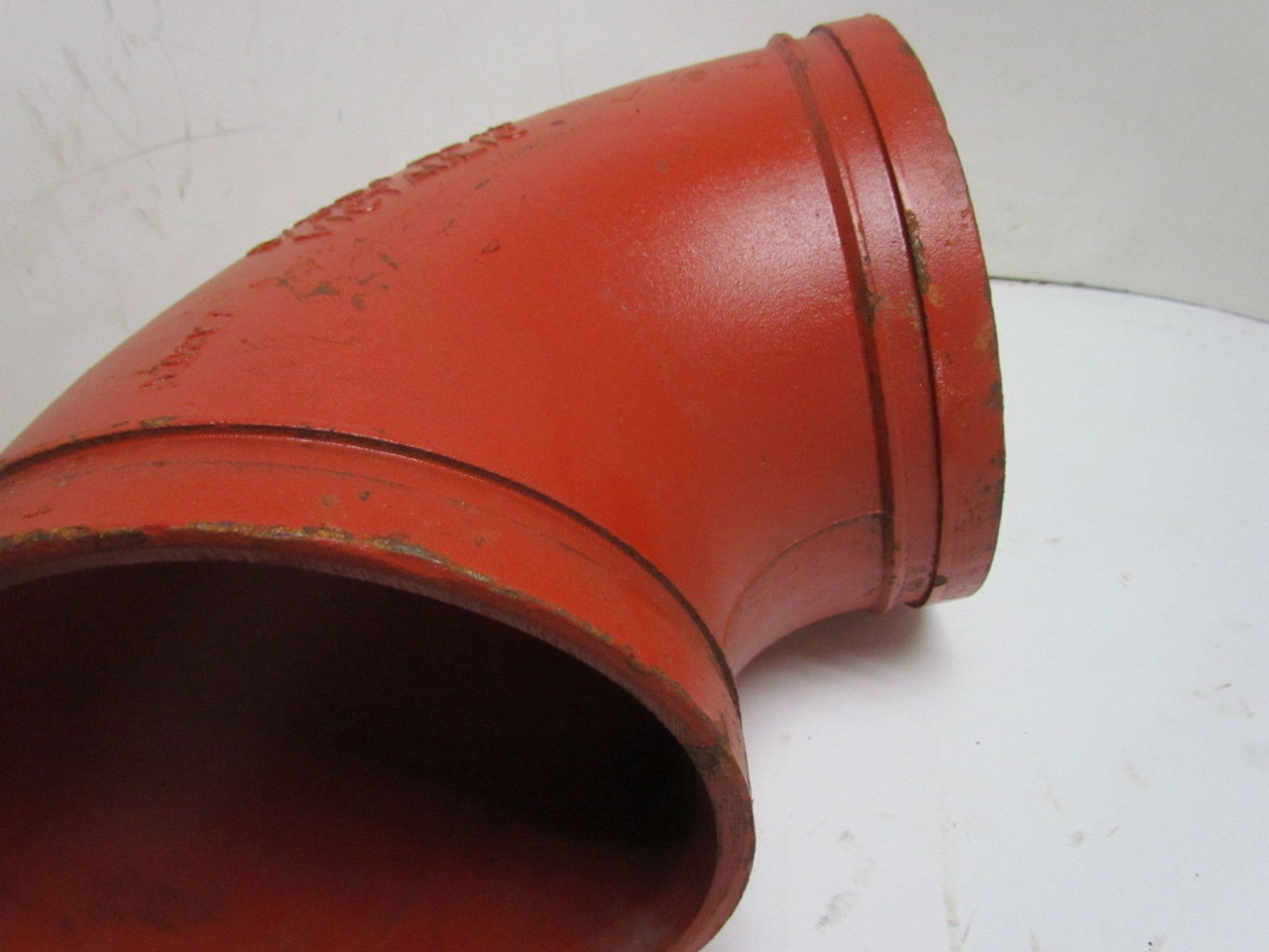 Victaulic no quot degree grooved end pipe fitting