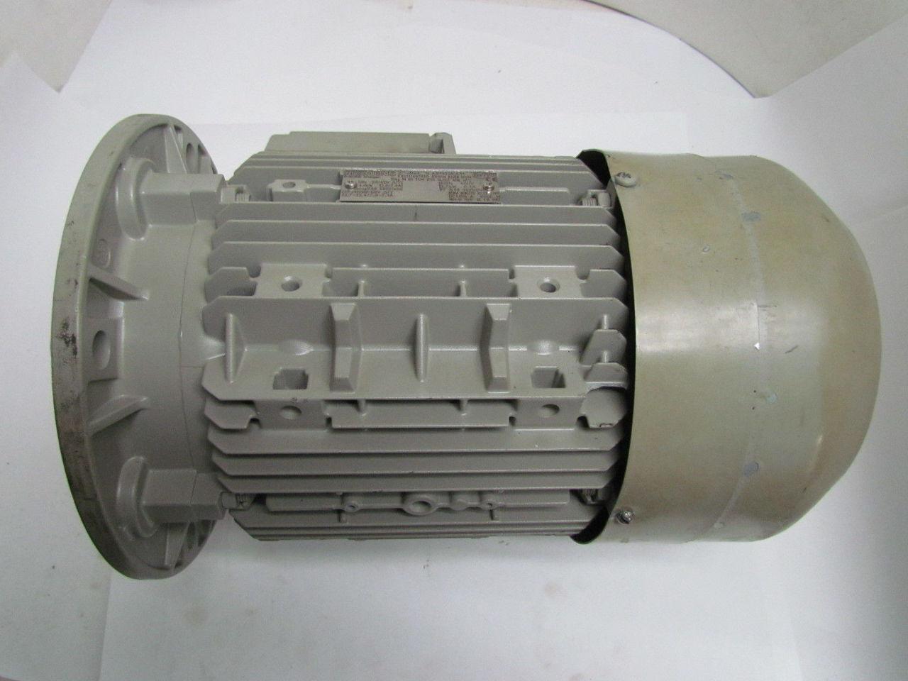 Siemens 1la91132ka11 5 hp 3525 rpm 3 ph 230 400 v tefc for 9 hp electric motor