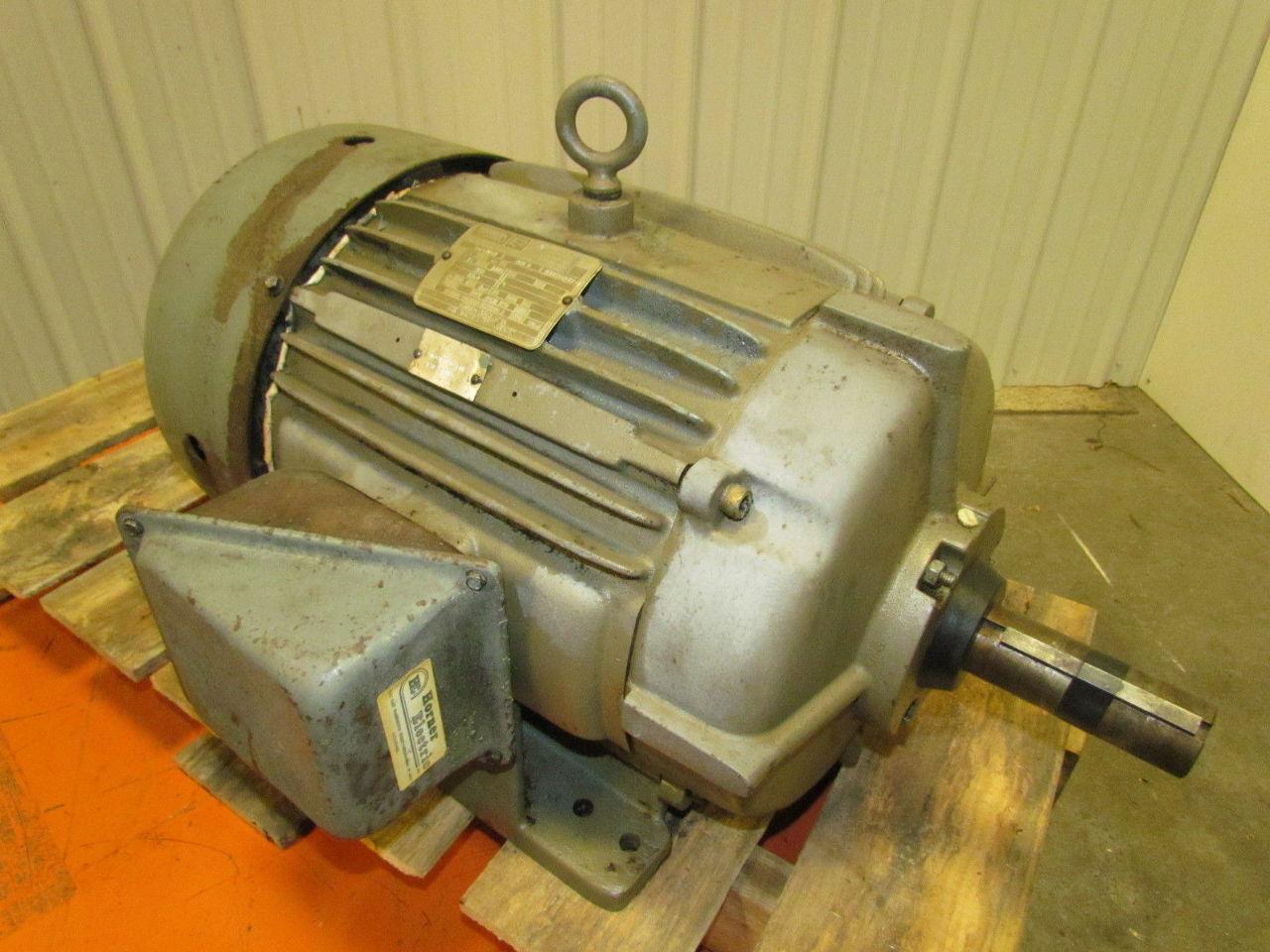 Lincoln Electric D Fg4104 15 Hp 1770 Rpm 460 V 17 4 Amp 3