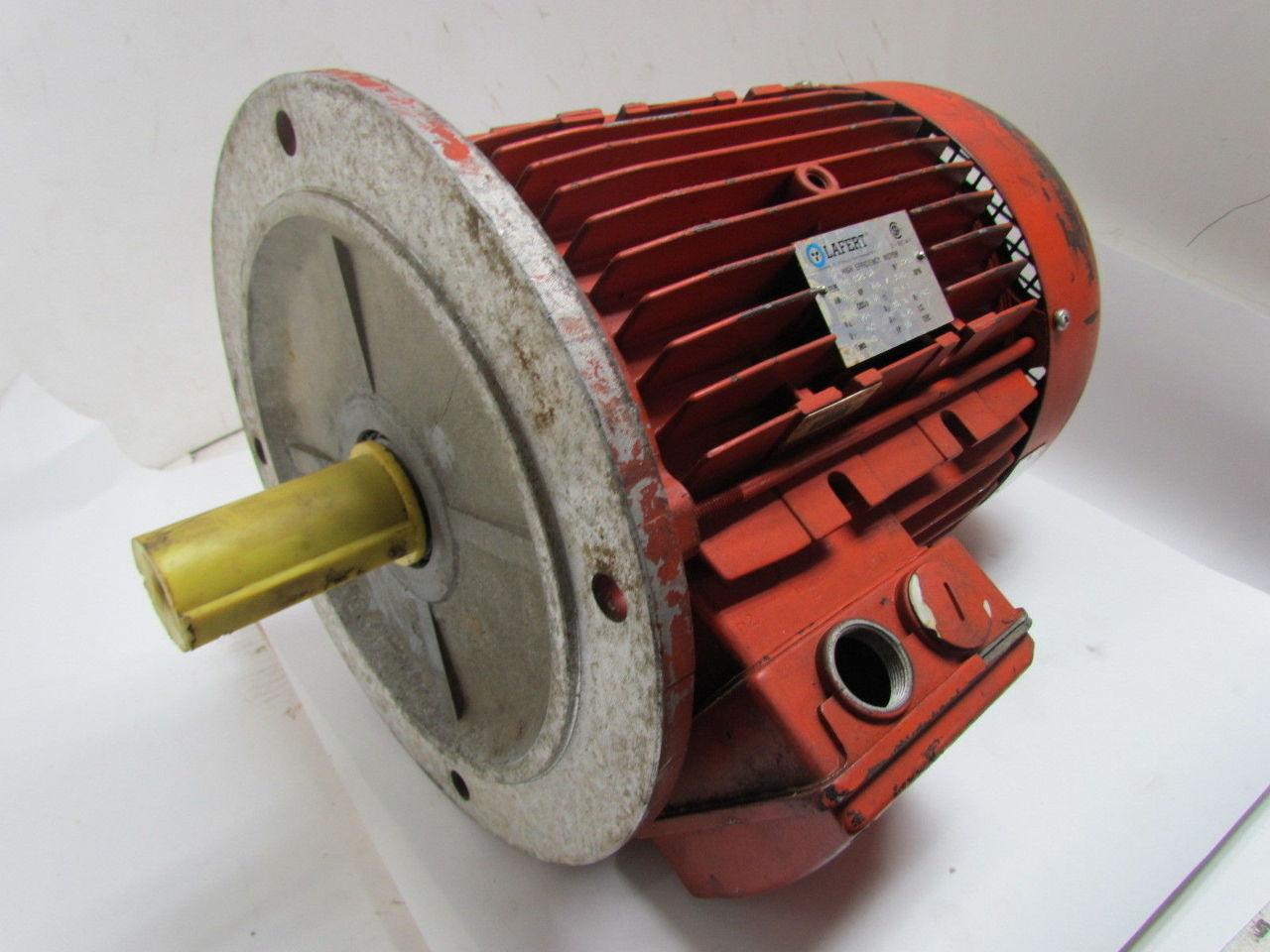 Lafert he 132s d2 tefc high efficiency electric motor 7 5 for High efficiency dc motor