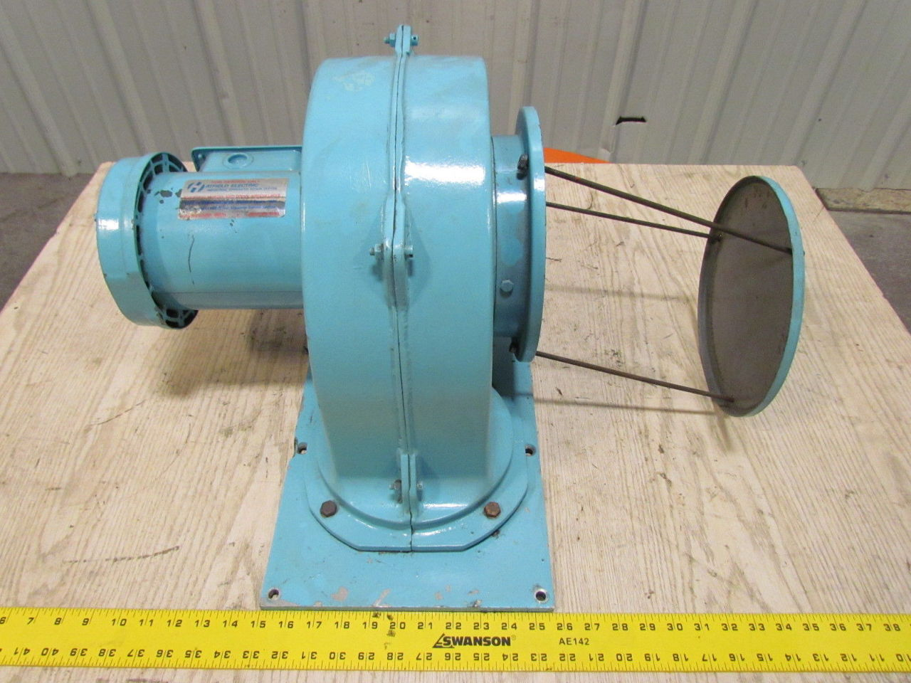 Reliance Electric 3 4hp 1725rpm 208 230 460v Tefc Motor