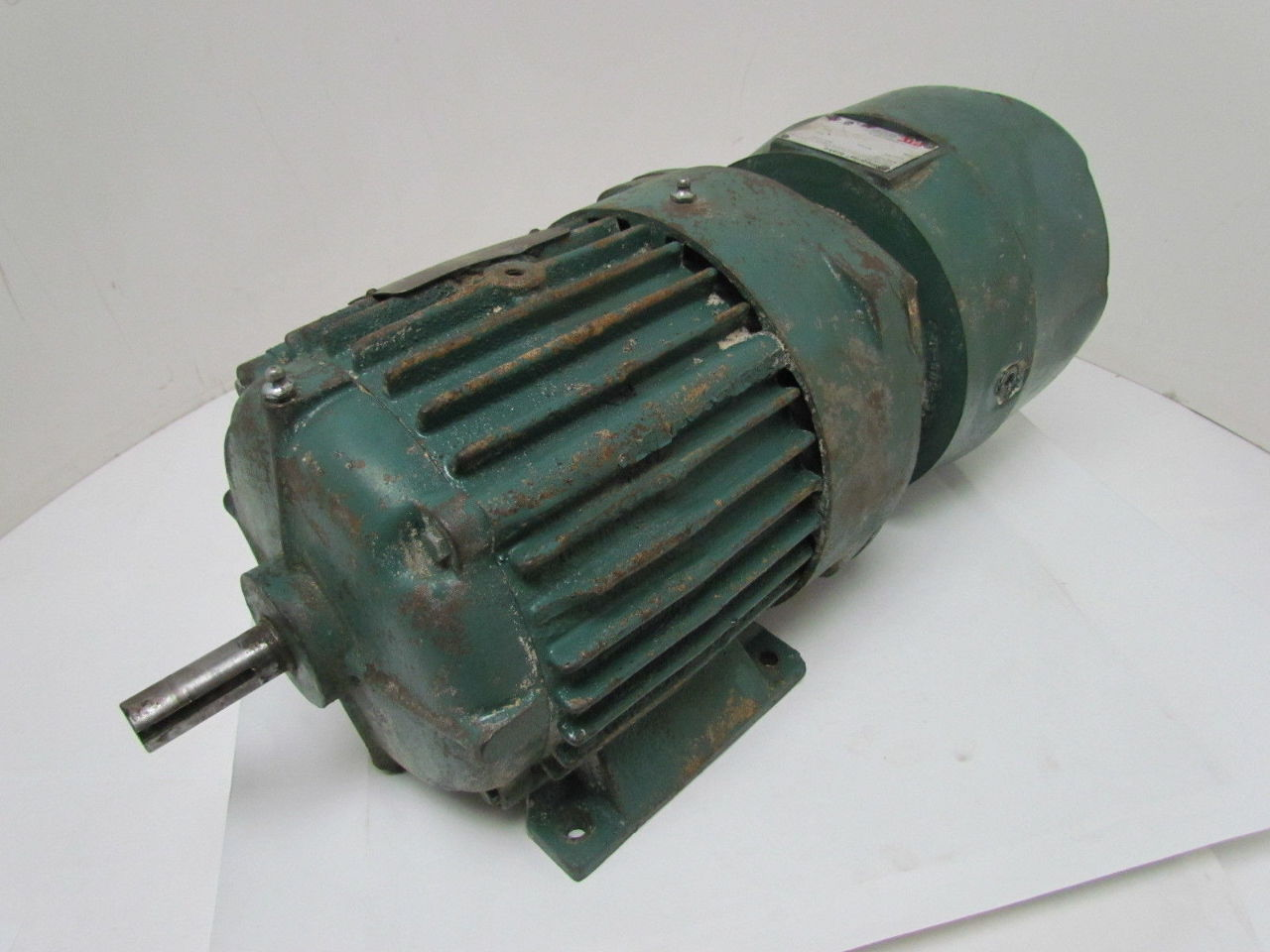 Delco b7835bb 2 hp 1730 rpm 460v 184y frame ac electric for Electrical braking of dc motor