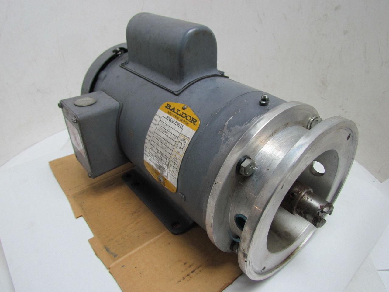 Baldor 2 Hp Single Phase 3450 Rpm 145tc Frame Tefc
