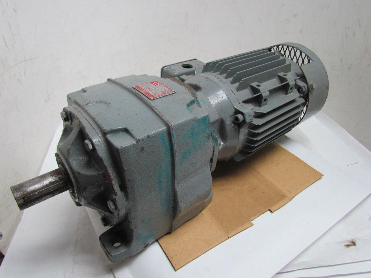 Brook Hansen Sfn25b 11 2 1 Gear Reducer Inline 152rpm W