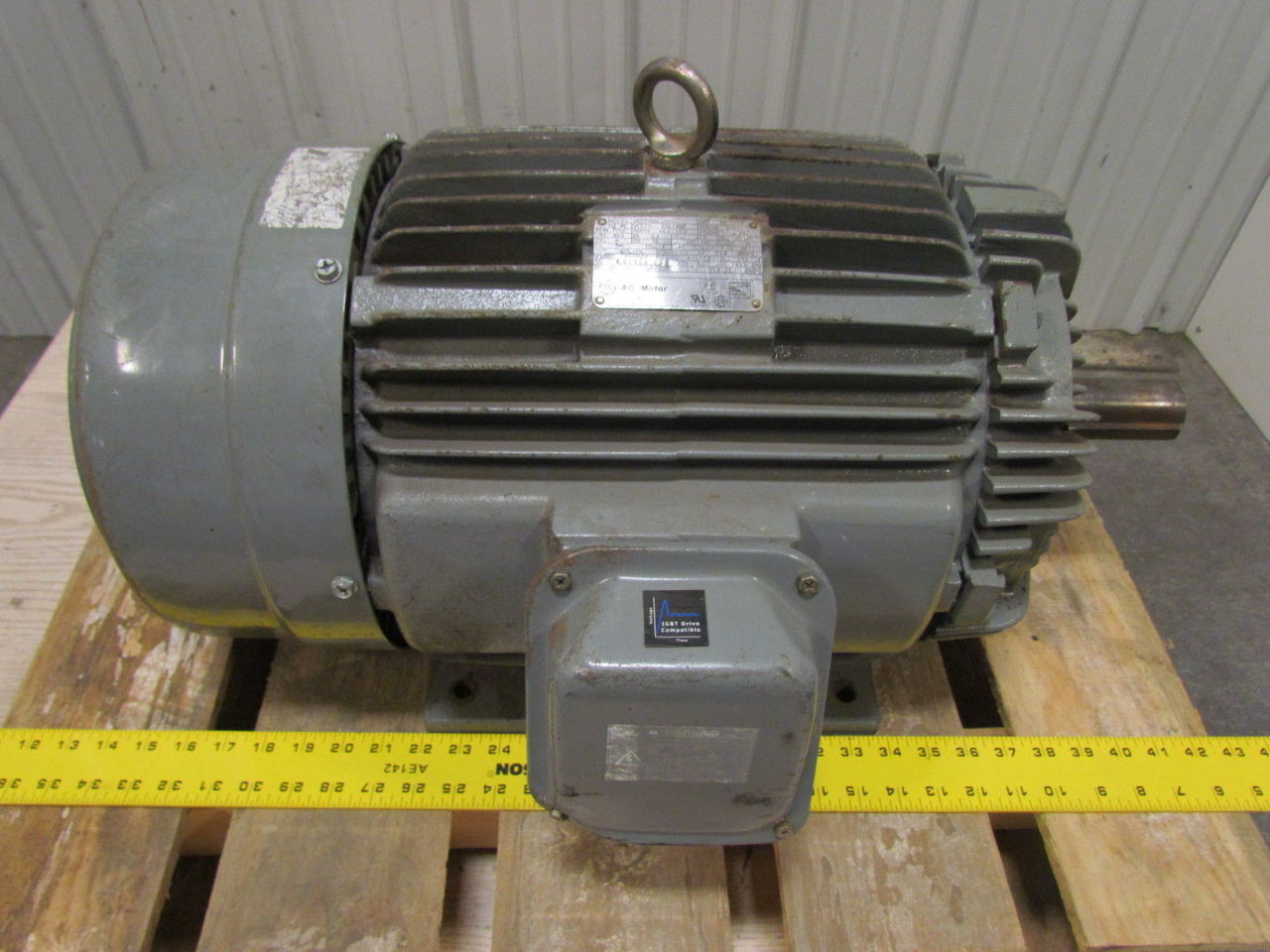 General electric 5ke256bc205c 20hp 1755 rpm 256t frame 230 for 20 rpm electric motor