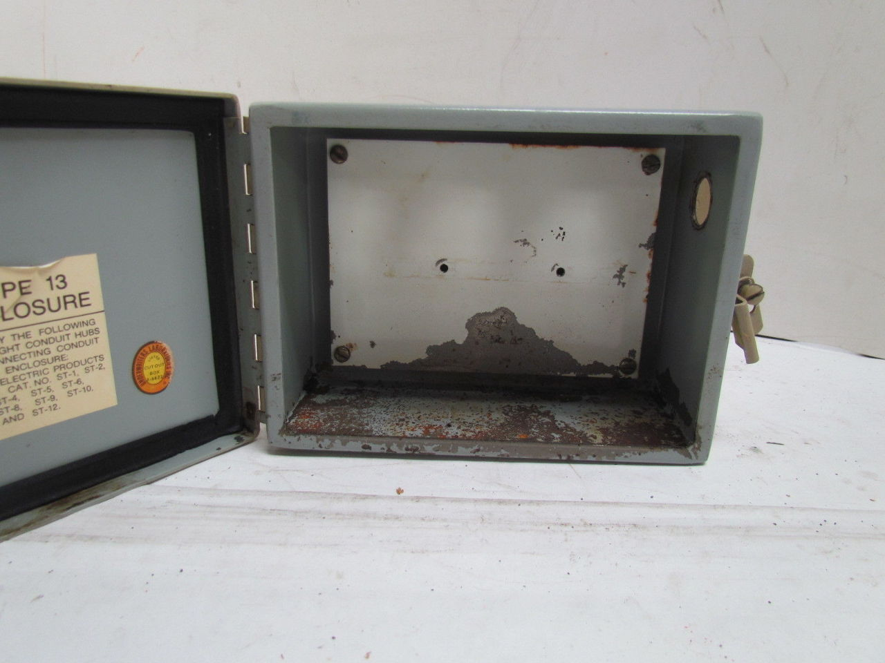 Type 13 Enclosure Jic Junction Box Wall Mount 8 X 6 X 4