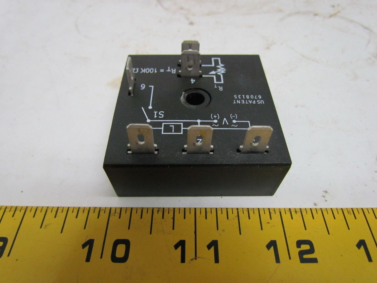 Abb Tss422 Solid State Timer 120 Vac Time Delay 0 5